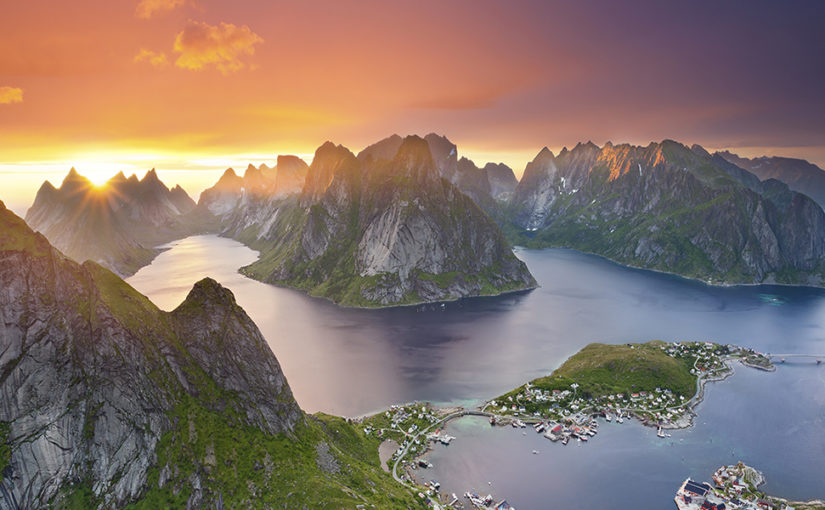 The Lofoten Islands and the Midnight Sun, Norway!